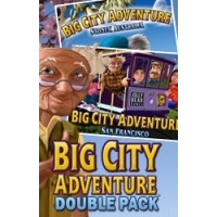2 Double Pack Big City Adventure Sydney San Francisco Deluxe