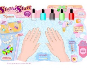 4.Nail Art Salon