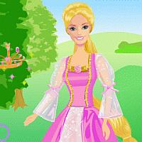 9.Barbie as Rapunzel
