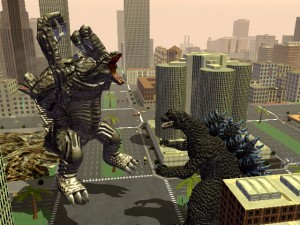 1 Godzilla Destroy All Monsters Melee