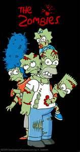1 The Simpsons Zombie Game