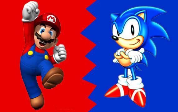 10. Mario vs. Sonic Racing