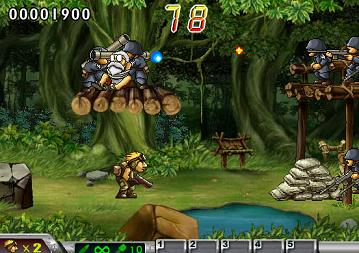 10. Metal Slug Flash