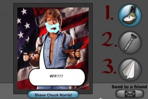 10. Shave Chuck Norris