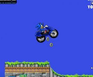 4. Sonic Motorbike