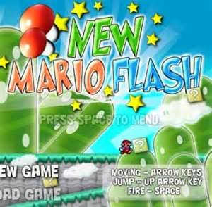 5 New Mario Flash