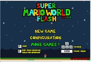 6 Super Mario World Flash
