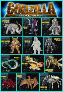 8 Godzilla Monster War
