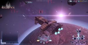 8.Battlestar Galactica Online