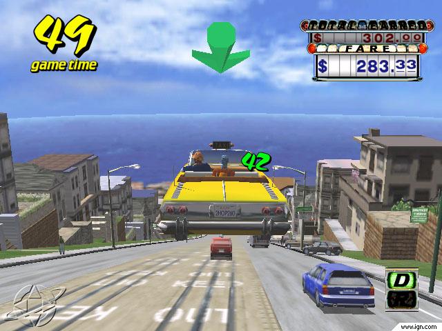 10.Crazy Taxi