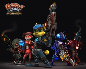 2.Ratchet and Clank