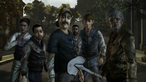 4.The Walking Dead Game