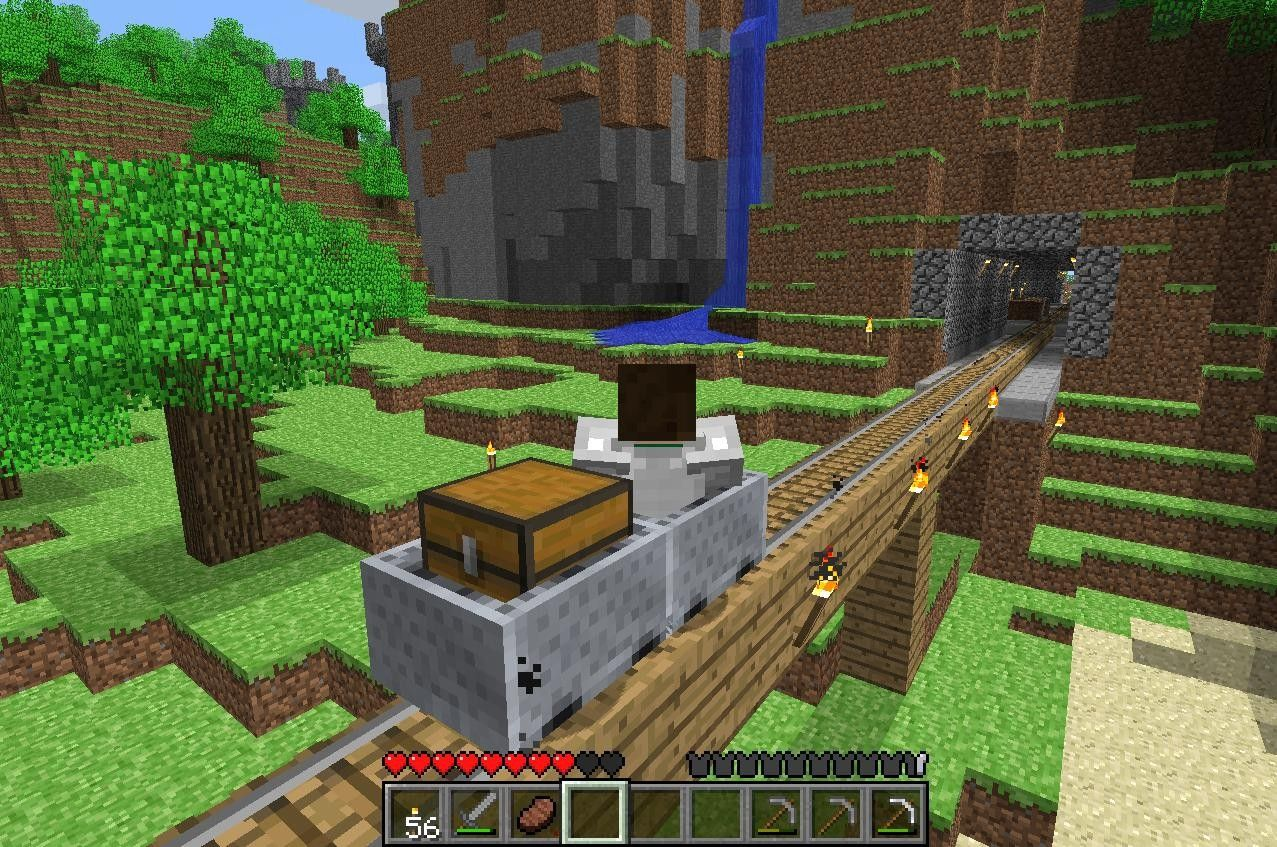 10.Minecraft Portable and for the PC