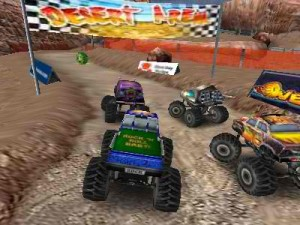 3D Monster Truck Race