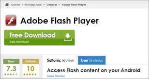 Legacy version of Flash Player for Android